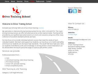 Driver Training School